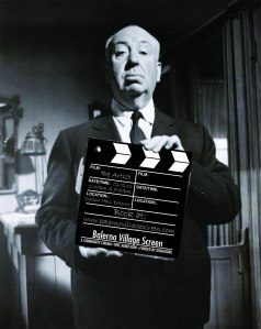 Hitchcock Clapperboard