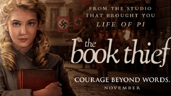The Book Thief – screening Saturday 22nd Nov 7.30pm